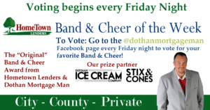 Vote for your favorite band & cheer of the week!